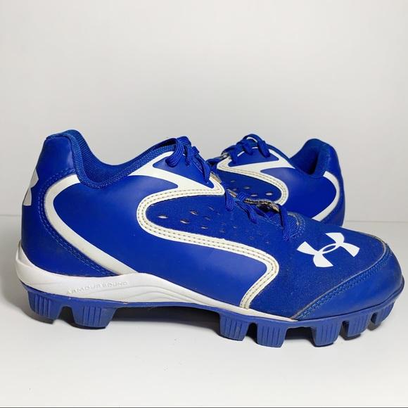 boys blue football cleats